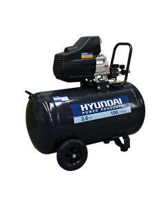Compresor hyundai monofasico 2 hp 100l (78hyac100d)