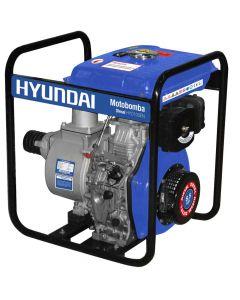 Motobomba Hyundai 4'x 4' Diesel 8,6Hp Mod: 82hyd100en