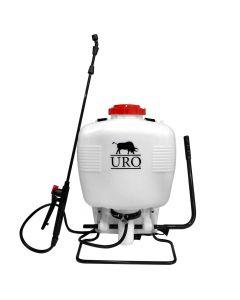 Pulverizador de espalda URO 15 lts blanco Mod: sx-15