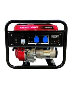 Generador Bencinero Energy Power Honda Gx160 2,4 Kva 220v P/manual Mod: Js 3200