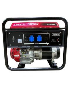Generador Bencinero Energy Power Honda Gx390 6 Kva 220v P/manual Mod: Js 7600