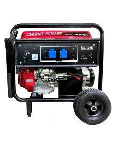 Generador Bencinero Energy Power Honda Gx390 6 Kva 220v P/electrica Mod: Js600e