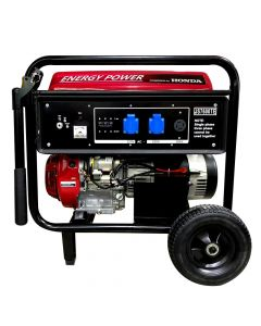 Generador Bencinero Energy Power Honda GX390 6 KVA 220V P/Electrica Mod: JS7600TE
