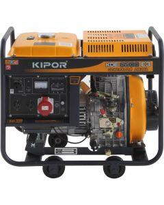 Generador diesel trifásico kde6500e3 4kw kipor (101015312)