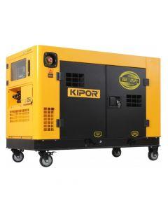 Generador diesel trifásico kde12staf3 10.5 kw kipor(305010007)