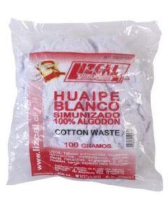 Huaipe simunizado blanco lizcal bolsa 100 grs.(508hp100g)