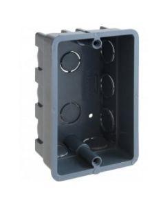 Caja derivacion plastica embutir apilable gris sin inserto 100x64x41(marisio) mwd050081000 (e100)