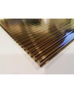Plancha policarbonato bronce