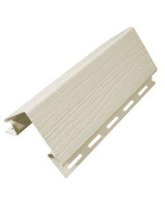 Esquinero exterior siding tira 3 mts beige dvp (2511100002100) (e1)