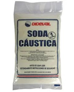 Soda caustica dideval 1 kg (e24)