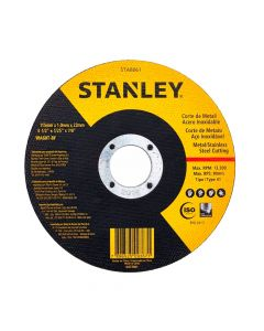 Pack 10 Disco Corte Inox. 4 1/2 X 1.0 Mm Stanley