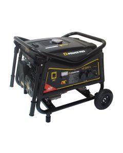 Generador gasolina monofasico 5.5 kva ge5500-v power pro