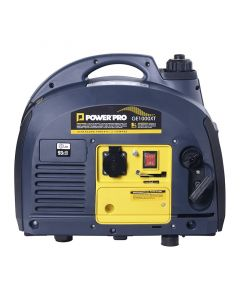 Generador portátil 2t (gasolina / aceite) monocilíndrico y monofásico g1000 xt power pro