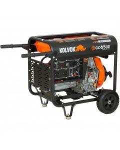 Generador Abierto Diesel Monofasico 6.5kva Mod: Go65de Kolvok