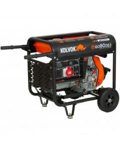 Generador Abierto Diesel Trifasico 8.1kva Mod: Go80de3 Kolvok
