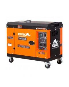 Generador Kolvok Insonorizado Diesel Monofasico 5,5 Kw Mod: Gs700d