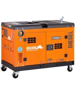 Generador Insonorizado Diesel Trifasico 11.5kva Mod: Gs12d3 Kolvok