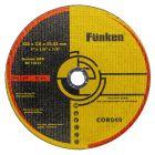 DISCO CORTE 9  X  3 MM INOX  UN. FUNKEN