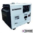 Generador daewoo mod-ddae8000se + ats 5.0 kva p/electrica 230 v diesel cerrado (7799034119637) (e1)